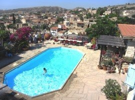 Cyprus home rental with pool
