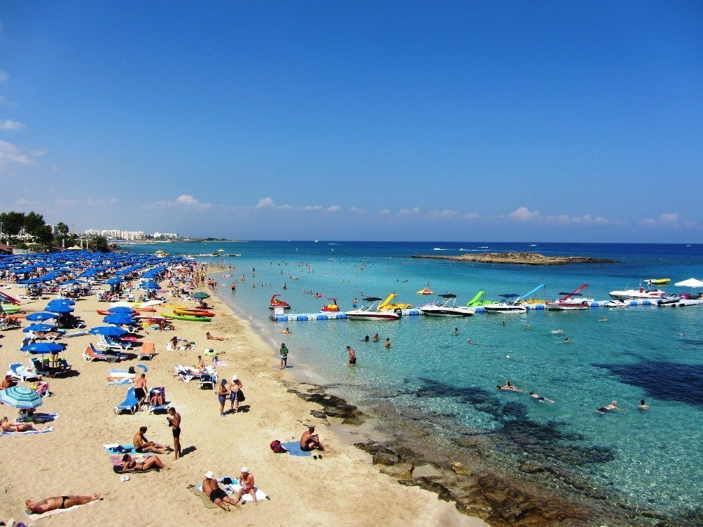 Protaras fig tree beach