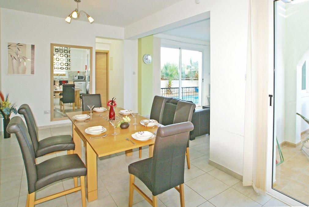 Villa Protaras Dining Room 1
