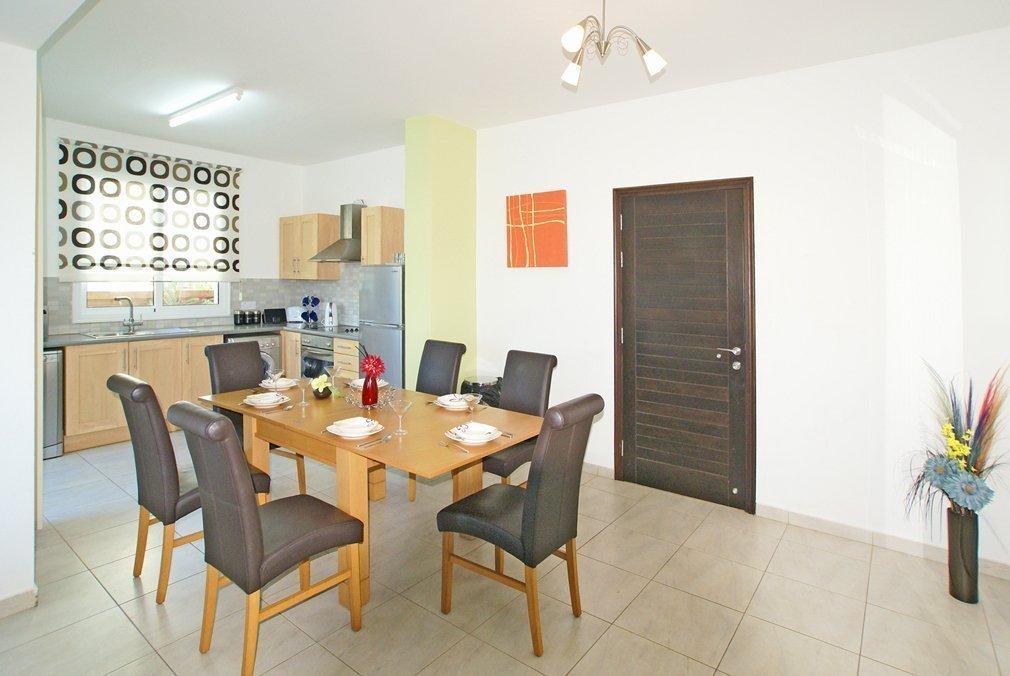 Villa Protaras Dining Room