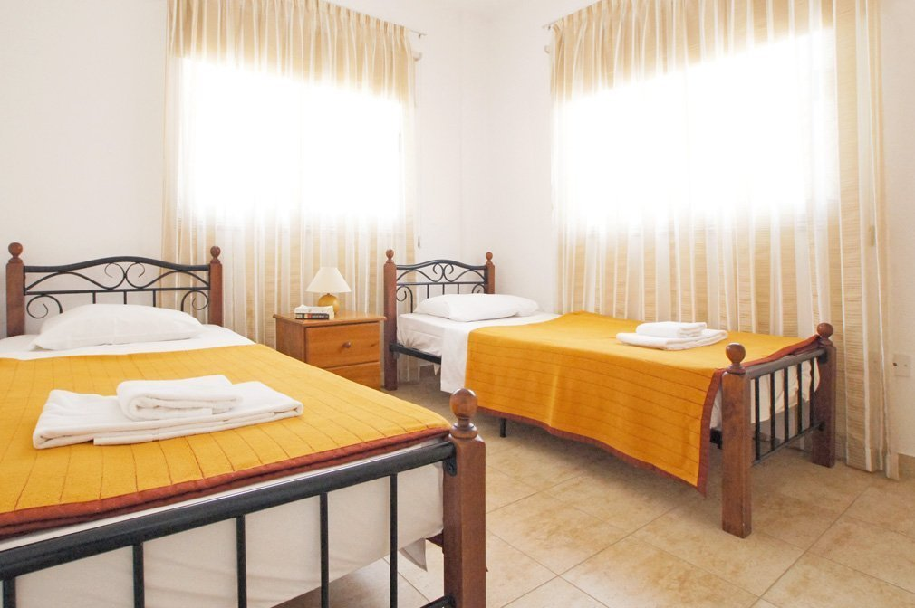 Villa Blue spice Twin Bedroom 1
