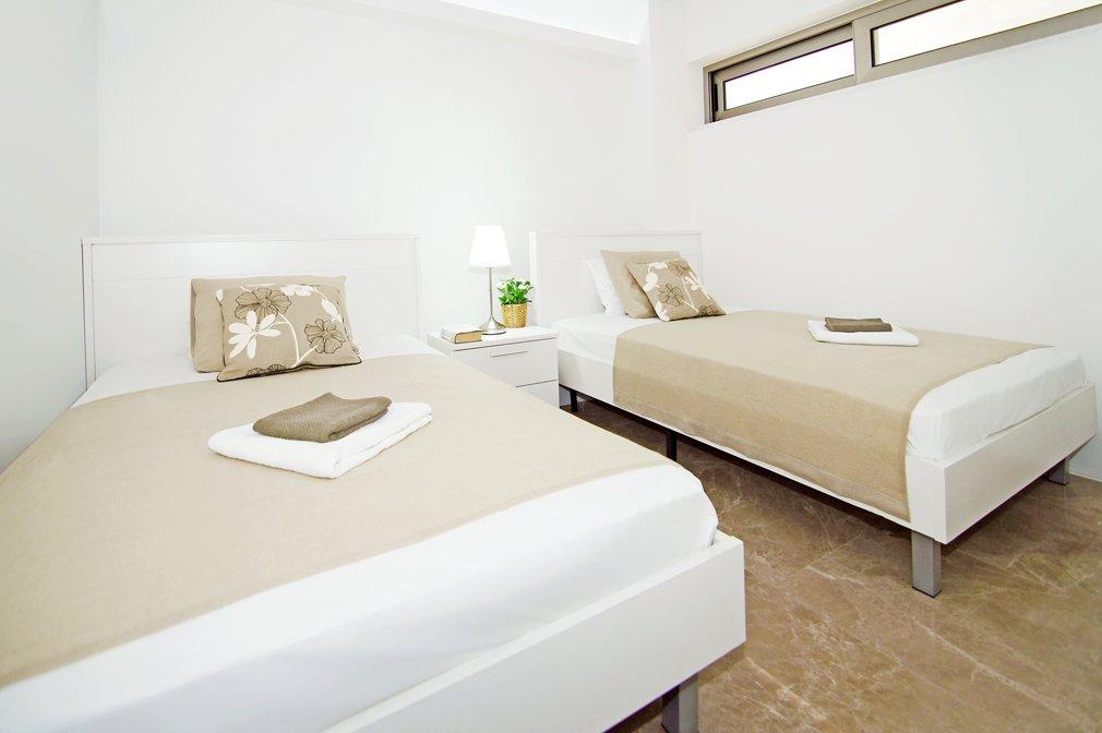 Cavo Maris Twin Bedroom