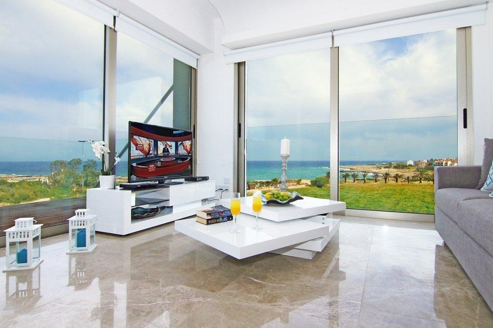 Apartment in Protaras Sitting room