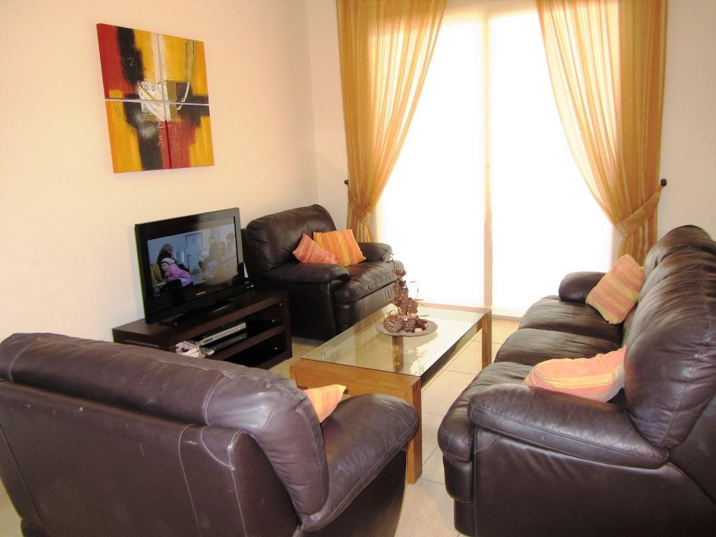 Villa Pernera sitting room