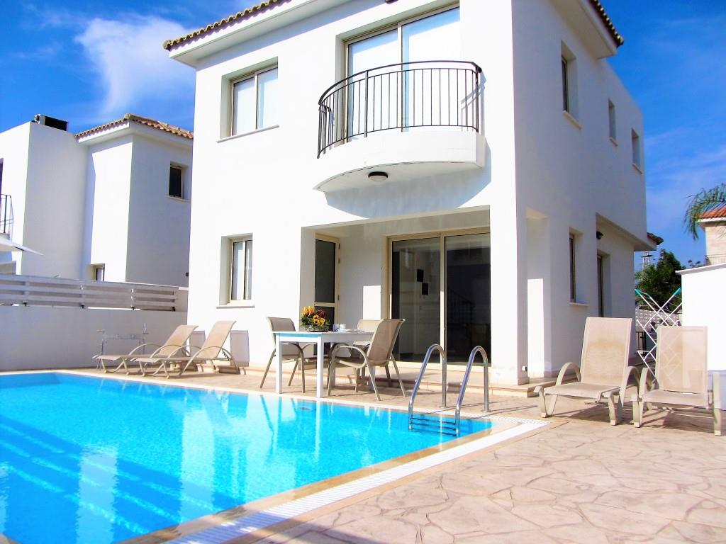 Villa palm Pool
