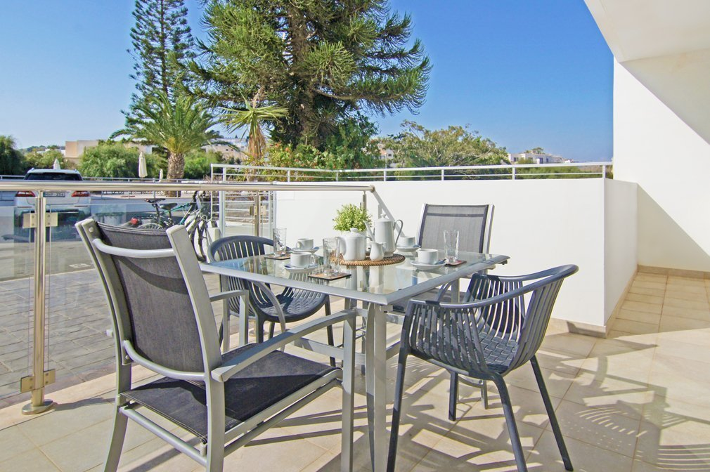 protaras 2 bed balcony