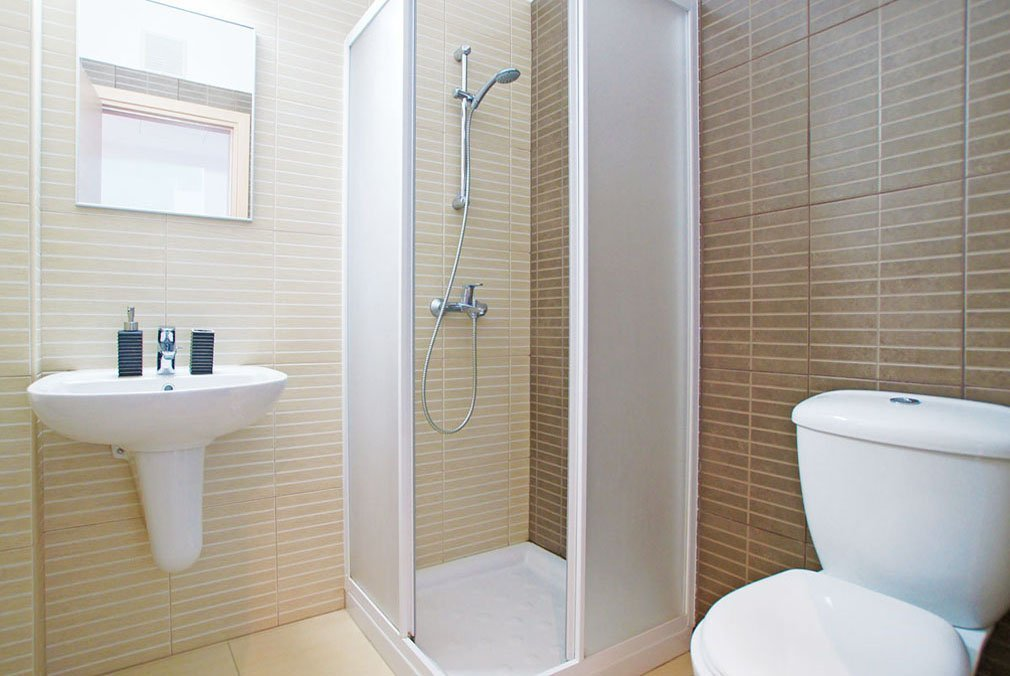Bathroom Blue beach apartment